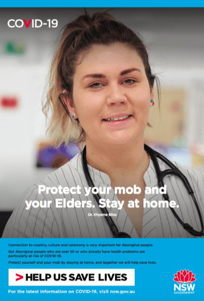 NSW Gov Campaign Stay Home by Banjo Advertising